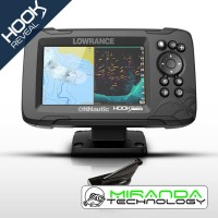 Lowrance Sonda GPS Plotter HOOK Reveal 5 HDI 83/200/Downscan